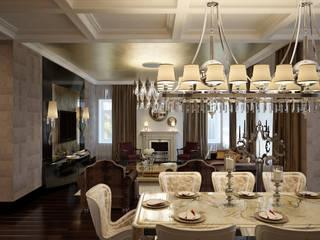 «Дом солнца» Столовая комната в классическом стиле от Архитектурное бюро 'Дом-А' Классический