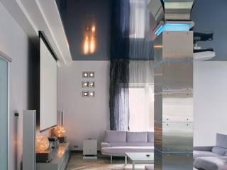 Загородный дом для уикендов Гостиная в стиле минимализм от Архитектурное бюро 'Дом-А' Минимализм