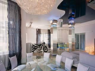 Загородный дом для уикендов Столовая комната в стиле минимализм от Архитектурное бюро 'Дом-А' Минимализм