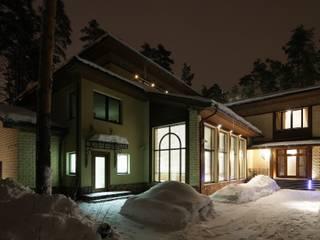Дом в стиле неоклассика Дома в классическом стиле от Архитектурное бюро 'Дом-А' Классический