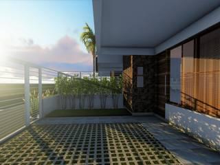 Maisons modernes par Okla Arquitetura Moderne