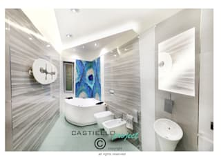 Modern bathroom by CASTIELLOproject Modern