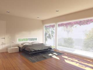 Minimalist bedroom by CA Arquitectura & Interiores Minimalist