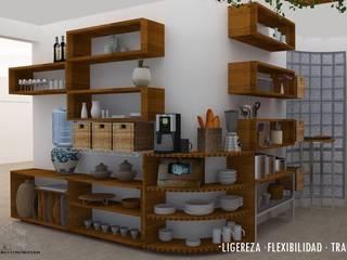 Kitchen by Urbe. Taller de Arquitectura y Construcción, Eclectic