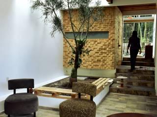 Casa Luna: Salas de estilo  por Baam Arquitectura