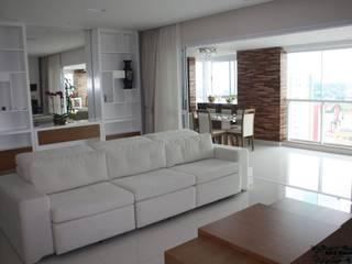 Sala Interior - Central Park Aquarius - São José dos Campos Salas de estar modernas por Art&Contexto Arquitetura Moderno