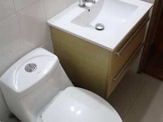 Remodelación Baño Visitas San pascual, Las Condes Constructora Acuña