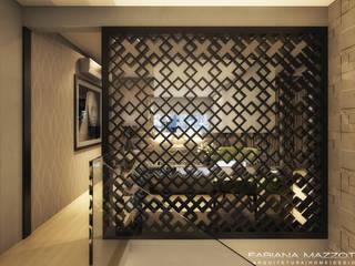 Cuartos de estilo moderno de Fabiana Mazzotti Arquitetura e Interiores Moderno