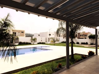 Modern Pool by RIVERA ARQUITECTOS Modern