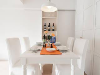 sky heights 102: TBJインテリアデザイン建築事務所が手掛けたキッチンです。,北欧