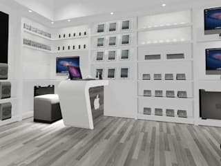 Office Interior Design: modern  by Ensileta Interiors and Modular Solutions,Modern