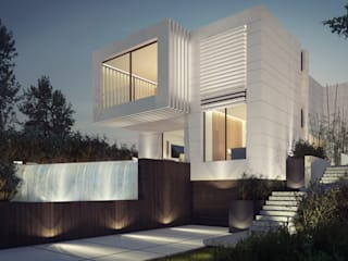 CASA NIGRÁN Casas de estilo moderno de EAU ARQUITECTURA S.L.P. Moderno