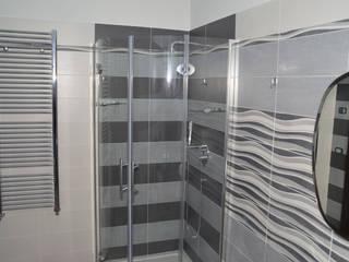 Baño de invitados Baños de estilo moderno de Sergio Nisticò Moderno