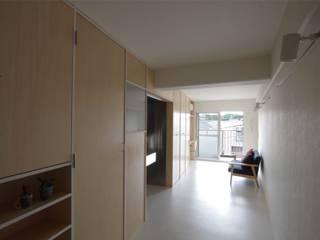 Casas de estilo  por ピークスタジオ一級建築士事務所, Escandinavo