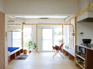 Scandinavian style houses by ピークスタジオ一級建築士事務所 Scandinavian