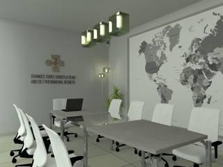 Sala de reuniones de Sergio Nisticò Minimalista