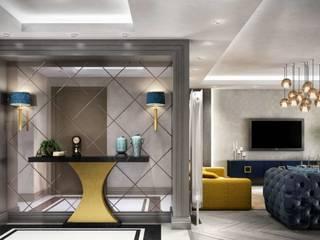 Moderner Flur, Diele & Treppenhaus von VERO CONCEPT MİMARLIK Modern
