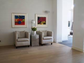 studio architecture Living room Wood Brown
