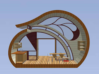 Hotéis modernos por eco-designer Moderno