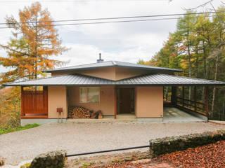 軽井沢 観風荘/新築別荘: 一級建築士事務所 アトリエ カムイが手掛けた家です。,和風