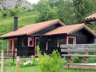 RUSTICASA Hôtels ruraux Bois massif Effet bois