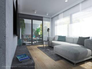 APARTAMENT ZALESIE: styl , w kategorii  zaprojektowany przez STUDIO SOKO