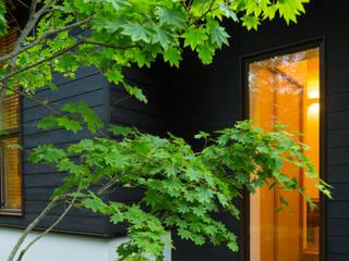 軽井沢 モリキズナの家/新築住宅: 一級建築士事務所 アトリエ カムイが手掛けた家です。,和風