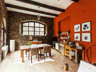 Dapur Gaya Mediteran Oleh 2kn Architekt + Landschaftsarchitekt Mediteran