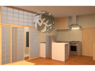 ออกแบบ 3d ห้อง condo ให้ลูกค้า style Oriental โดย mayartstyle เอเชียน