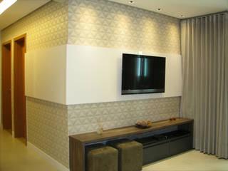 Apartamento 70's Salas de estar modernas por Collevatti Arquitetura Moderno