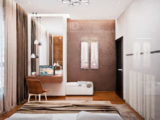 Cuartos industriales de Студия дизайна Interior Design IDEAS Industrial