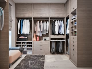 Closets industriais por Студия дизайна Interior Design IDEAS Industrial