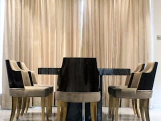 ETHNIC TOUCHE MIDAS DESIGN STUDIO Dining roomLighting