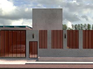 ออกแบบ 3d บ้าน 3 ชั้นให้ลูกค้า style ioft โดย mayartstyle คันทรี่