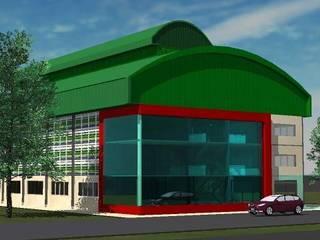 ออกแบบ 3d Fitness warehouse ให้ลูกค้า โดย mayartstyle โมเดิร์น