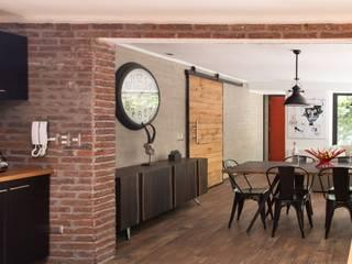 Living Livings de estilo moderno de RENOarq Moderno Concreto
