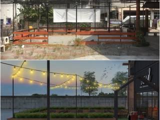 งานออกแบบปรับปรุงพื้นที่เก่า: ทันสมัย  โดย DesignOne Bkk, โมเดิร์น