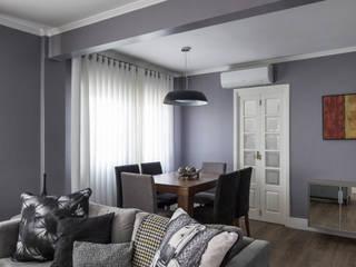Apartamento VB: Salas de estar  por MODI Arquitetura & Interiores