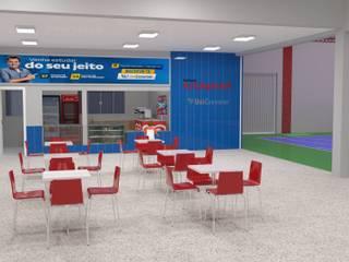 Projeto Comercial Escolas modernas por ROSITA JAEGER ARQUITETURA E INTERIORES Moderno