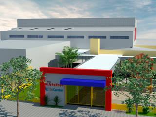 Fachada Colégio Alternativo: Escolas  por ROSITA JAEGER ARQUITETURA E INTERIORES