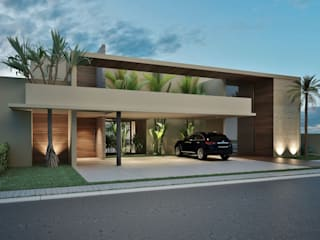 Residência AC: Casas  por Marcos Baldasso Arquitetura