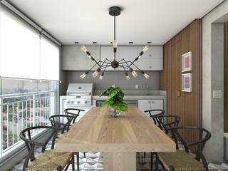 Ipiranga 82 Varandas, alpendres e terraços modernos por Casa 27 Arquitetura e Interiores Moderno
