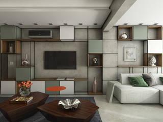 Ipiranga 82 Salas de estar modernas por Casa 27 Arquitetura e Interiores Moderno