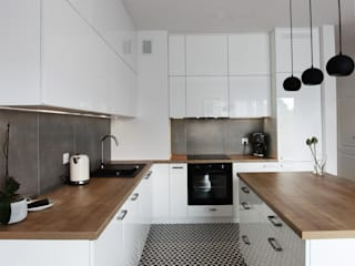 Kitchen by Musiał Studio, Scandinavian