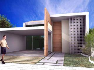 Casas modernas de Sergio Matos Arquitetura Moderno