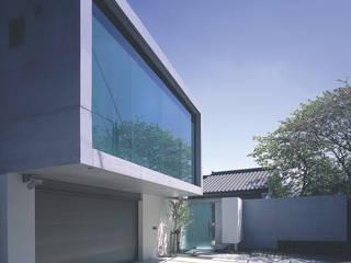 長田町の住宅 アトリエ環 建築設計事務所 モダンな 家