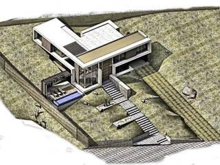 CASA 9: Casas de estilo  por Elite Arquitectura y Asoc. SAS.