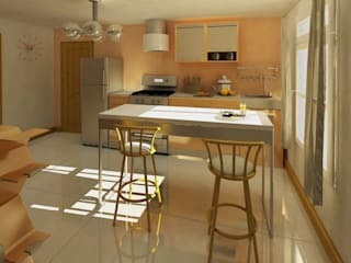Modern Kitchen by Pick Interiores Modern