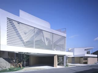 薬師の住宅 アトリエ環 建築設計事務所 モダンな 家