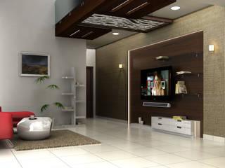 Interiors at Nature walk by SAHHA architecture & interiors